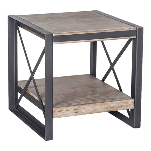 Image of BRONX SIDE TABLE, Brown - Tops-Dress