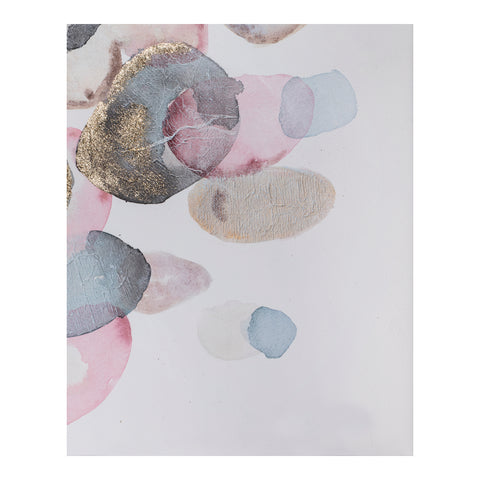 Image of RIVER PEBBLES WALL DÉCOR, Multicolor - Tops-Dress