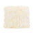 Lamb fur pillow large, white - Tops-Dress