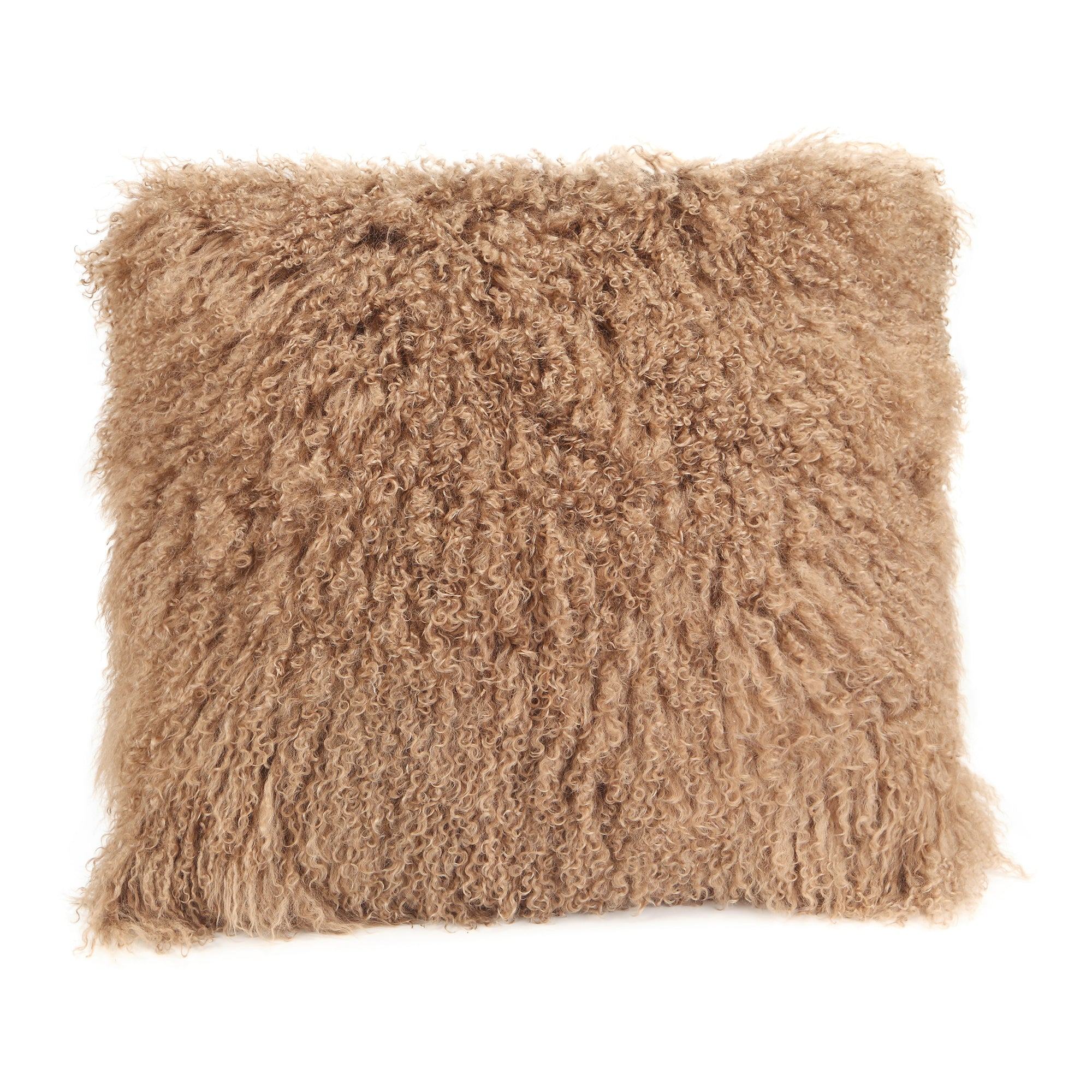 Lamb fur pillow large, natural - Tops-Dress