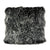 Lamb fur pillow large, black - Tops-Dress