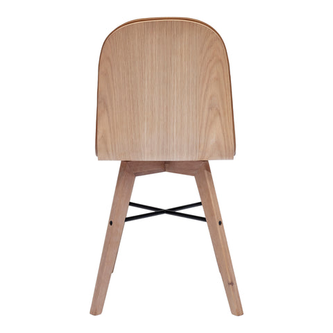 Image of NAPOLI DINING CHAIR, Brown - Tops-Dress