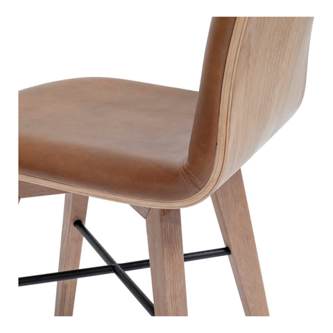 NAPOLI DINING CHAIR, Brown - Tops-Dress