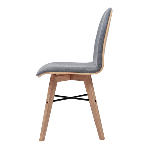 NAPOLI DINING CHAIR, Grey - Tops-Dress