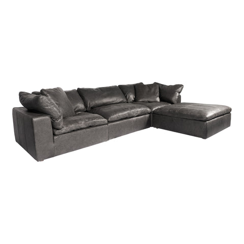 CLAY LOUNGE MODULAR SECTIONAL, Black - Tops-Dress
