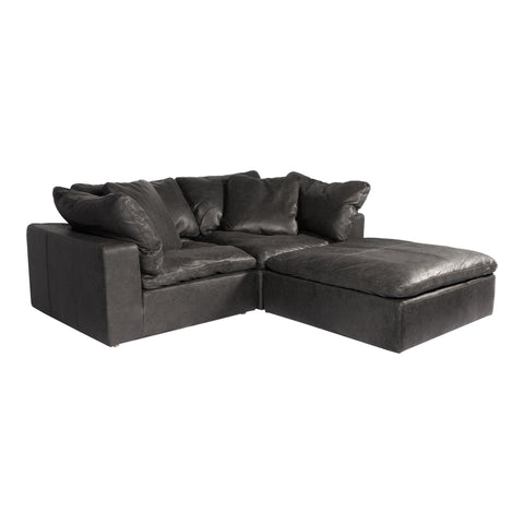 Image of CLAY NOOK MODULAR SECTIONAL, Black - Tops-Dress