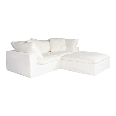 Image of CLAY NOOK MODULAR SECTIONAL, White - Tops-Dress