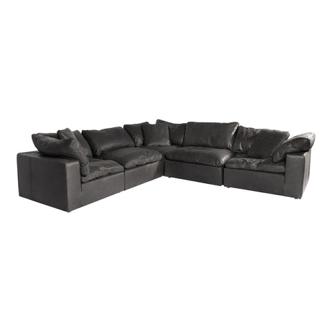 Image of CLAY CLASSIC L MODULAR SECTIONAL, Black - Tops-Dress