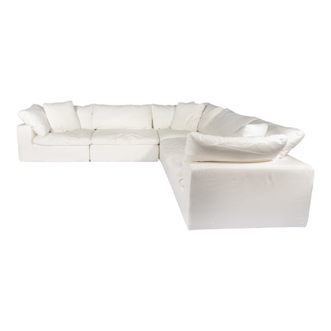 Image of CLAY CLASSIC L MODULAR SECTIONAL, White - Tops-Dress