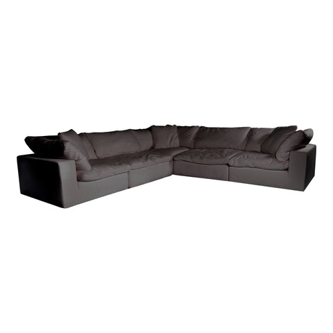 Image of CLAY CLASSIC L MODULAR SECTIONAL, Grey - Tops-Dress