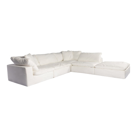Image of CLAY DREAM MODULAR SECTIONAL, White - Tops-Dress