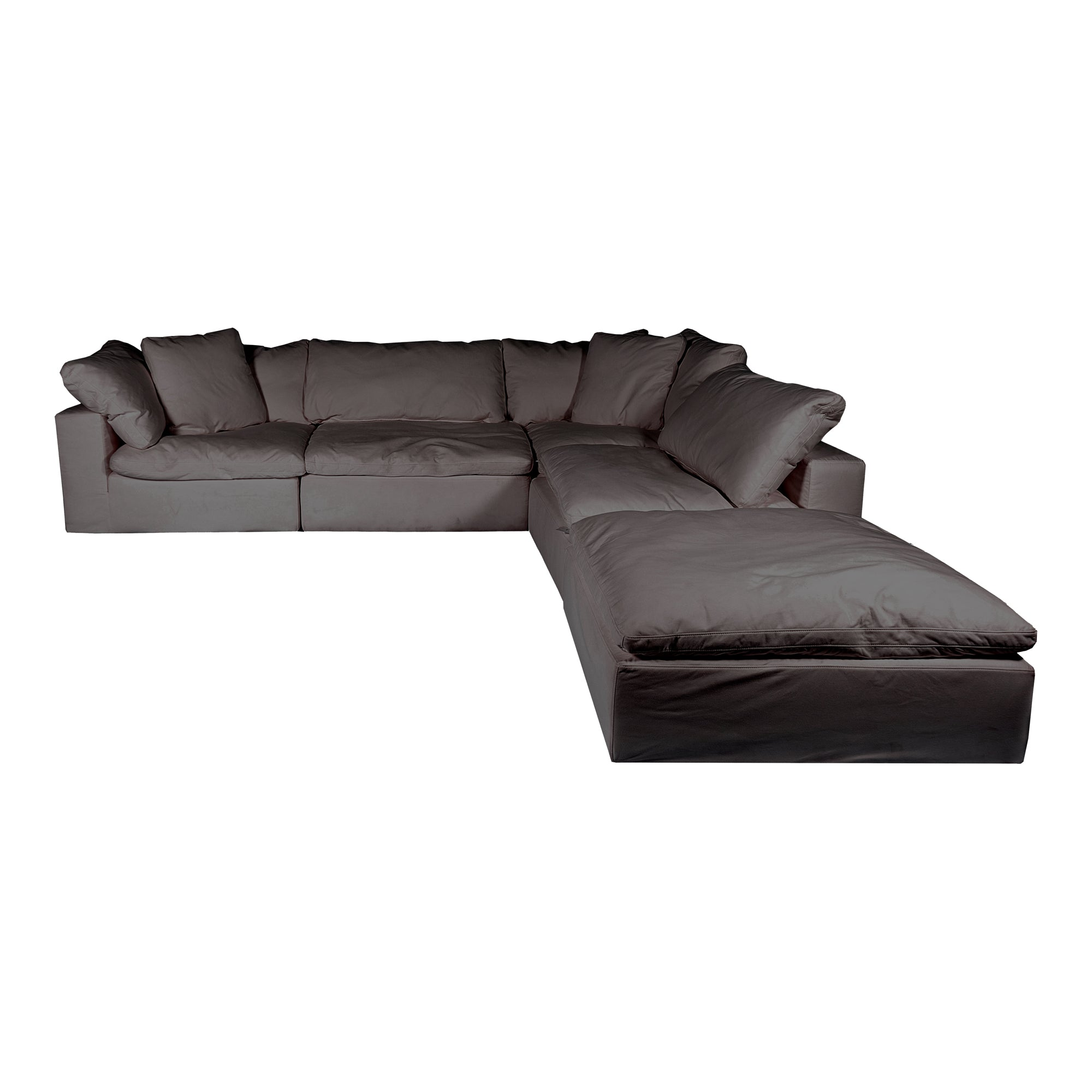 Clay dream modular sectional, grey - Tops-Dress