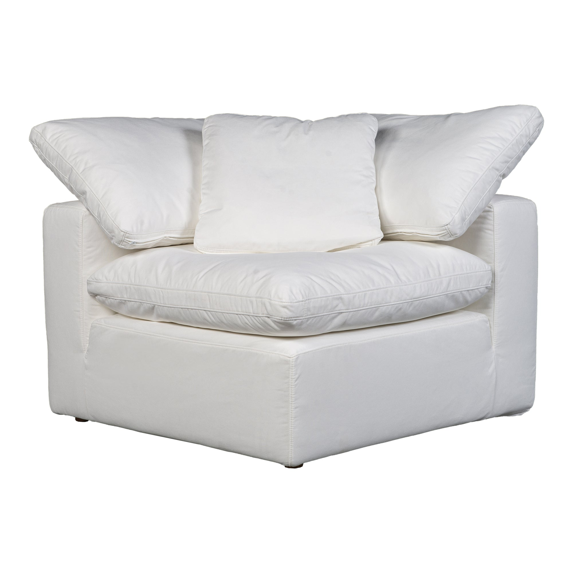 Terra condo corner chair, white - Tops-Dress
