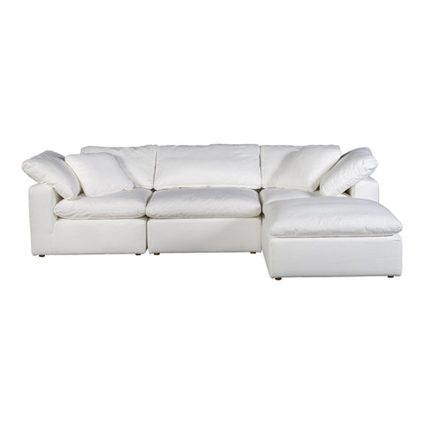 Image of TERRA CONDO LOUNGE MODULAR SECTIONAL, White - Tops-Dress