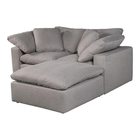 Image of TERRA CONDO NOOK MODULAR SECTIONAL, Grey - Tops-Dress