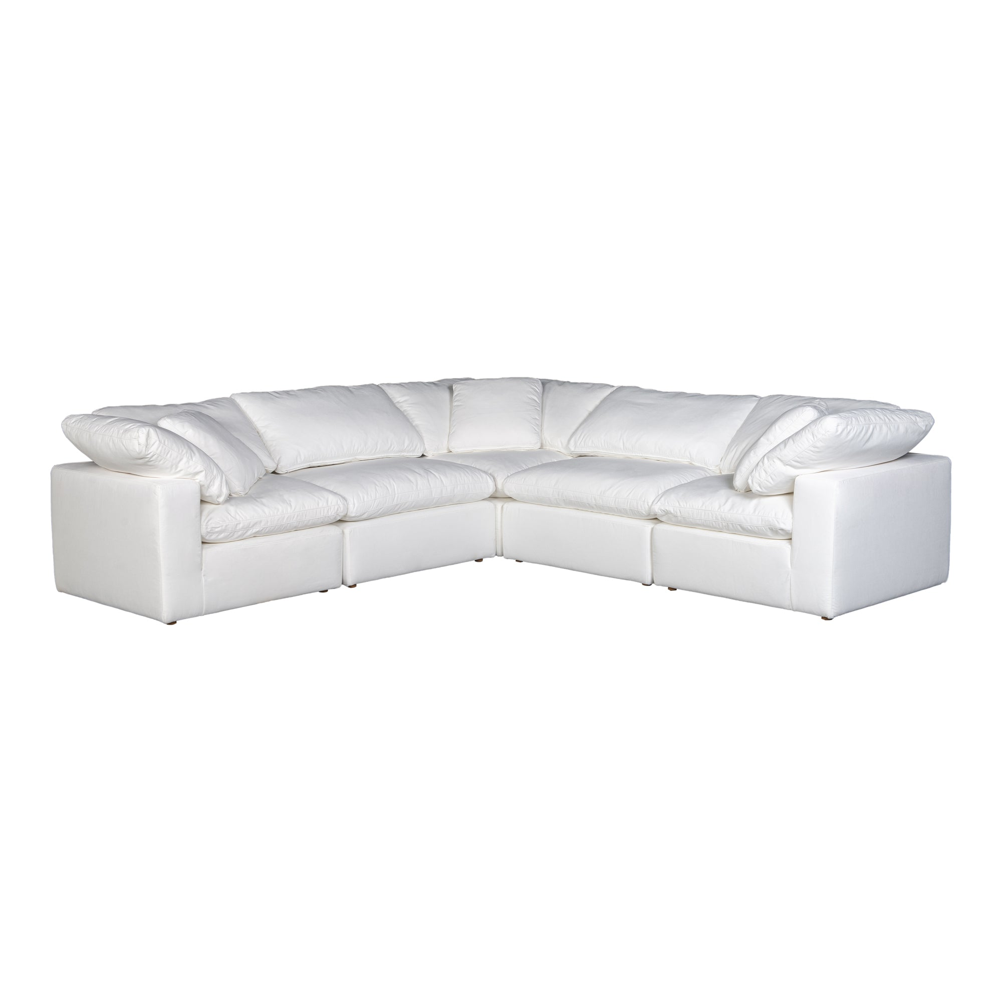 Terra condo classic l modular sectional, white - Tops-Dress