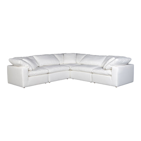 Image of TERRA CONDO CLASSIC L MODULAR SECTIONAL, White - Tops-Dress