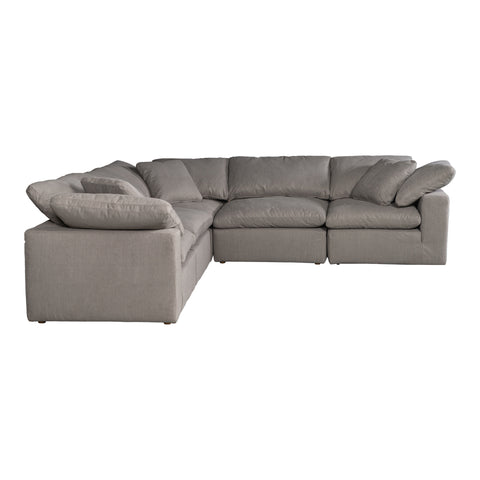 Image of TERRA CONDO CLASSIC L MODULAR SECTIONAL, Grey - Tops-Dress