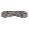 TERRA CONDO CLASSIC L MODULAR SECTIONAL, Grey - Tops-Dress