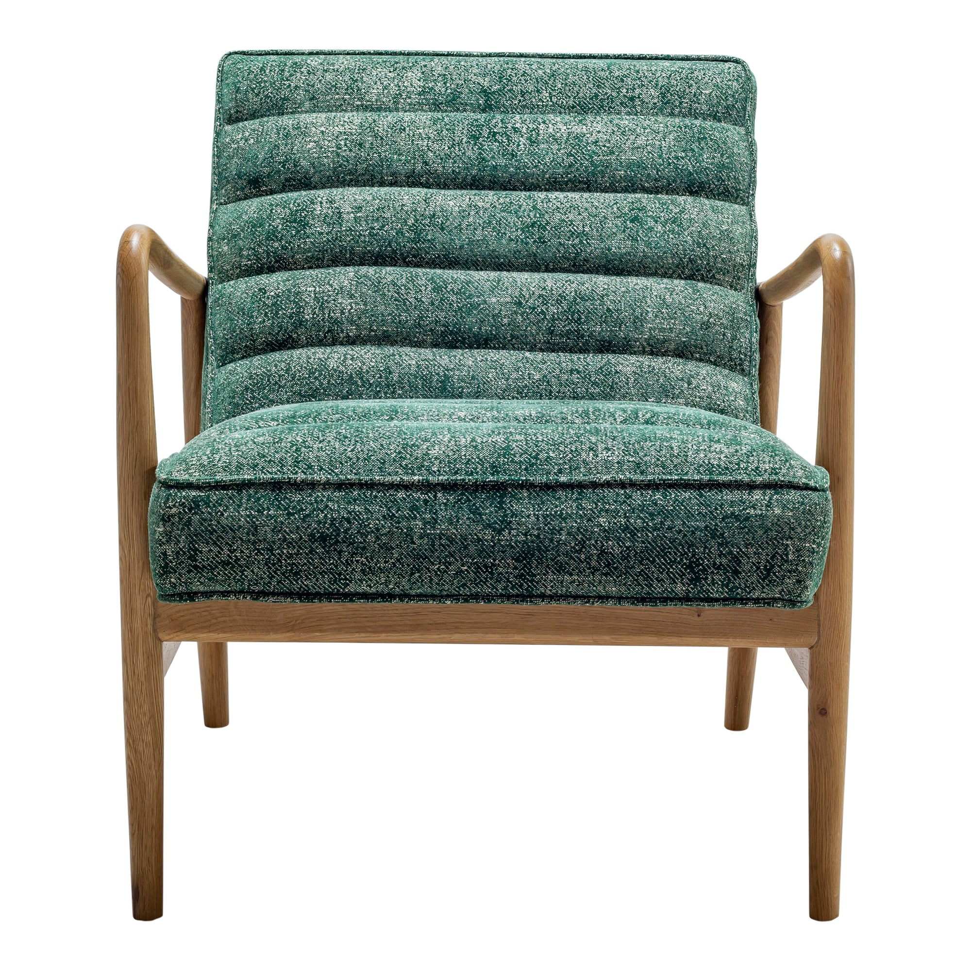 Adeline accent chair, green - Tops-Dress