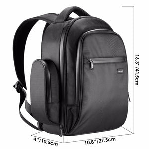 DJI Mavic Pro / Platinum Backpack Waterproof with Waterproof Zippers and Foam Hard Inlay