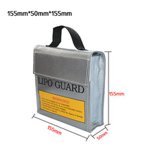 Waterproof Li-Po Battery Safety Bag 5*50*5mm