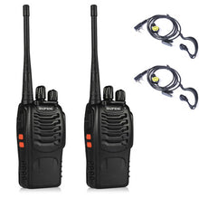 One Pair of Portable Two-Way Radios, 3km to 5km range