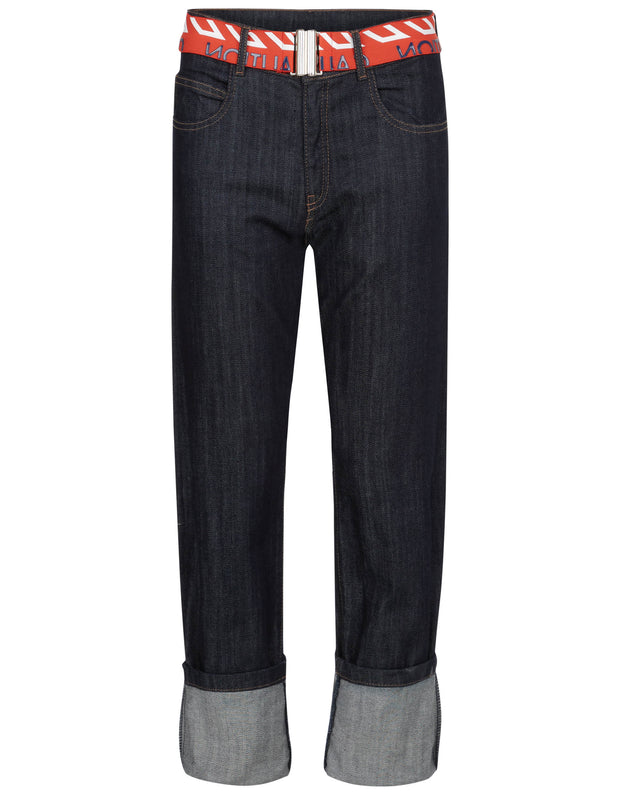 Pike jeans deep blue denim