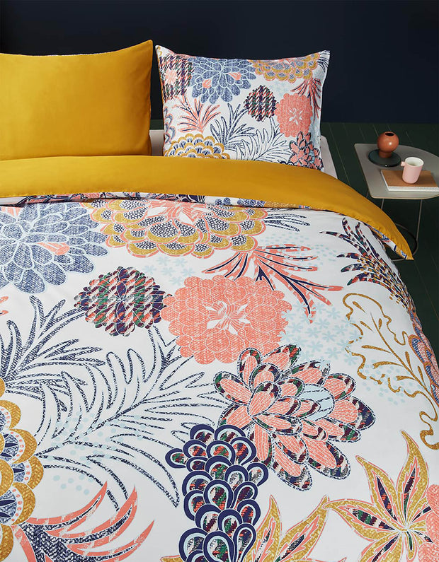 DekbedovertrekLayered Bloom Multi-Oilily-140x200/60x70(1)-Oilily.com