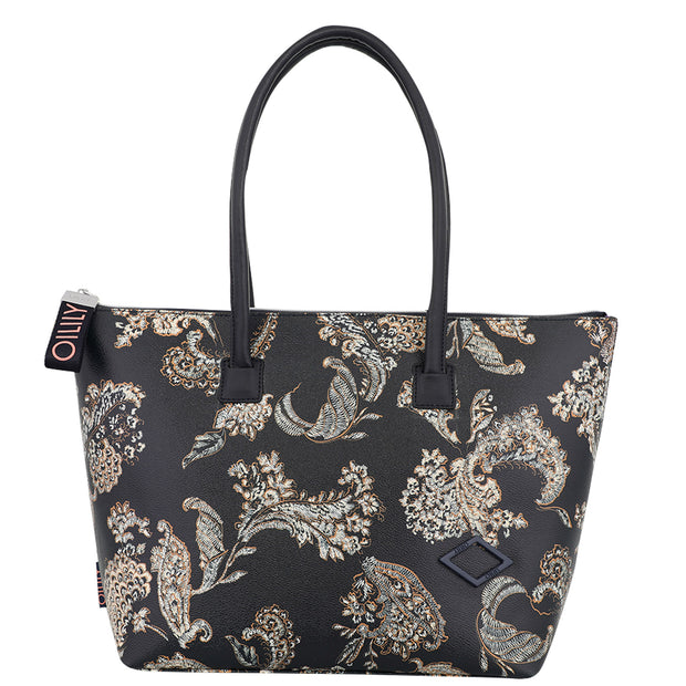 Shopper lhz Jolly donker blauw-Oilily-OS-Oilily.com