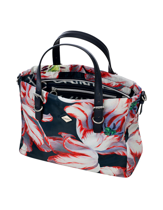Handtas mhz Picnic donker blauw-Oilily-1-Oilily.com