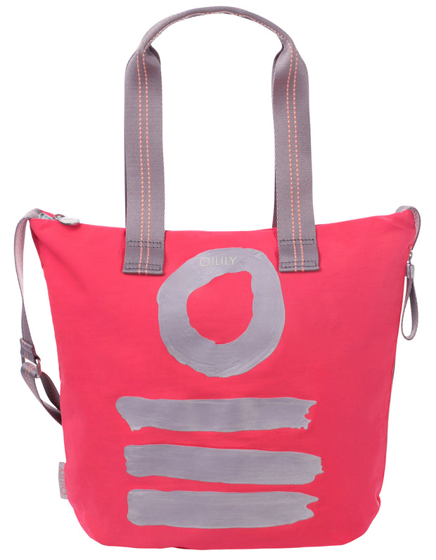 Shopper lvz Fun Nylon roze
