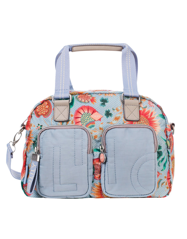 Handtas Charm Sunflower light blue