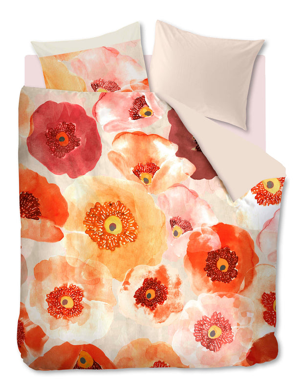 Oilily Faded Poppy Dekbedovertrek - Multi-Oilily-140x200/60x70(1)-Oilily.com