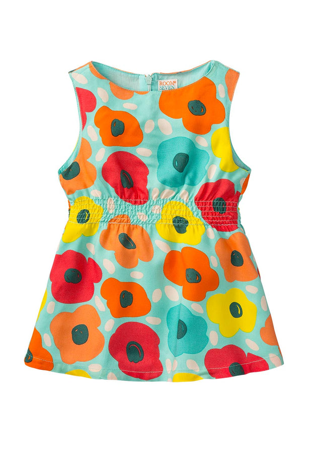 Meisjes rayonnen blouse bloes Bala-Room Seven-Oilily.com