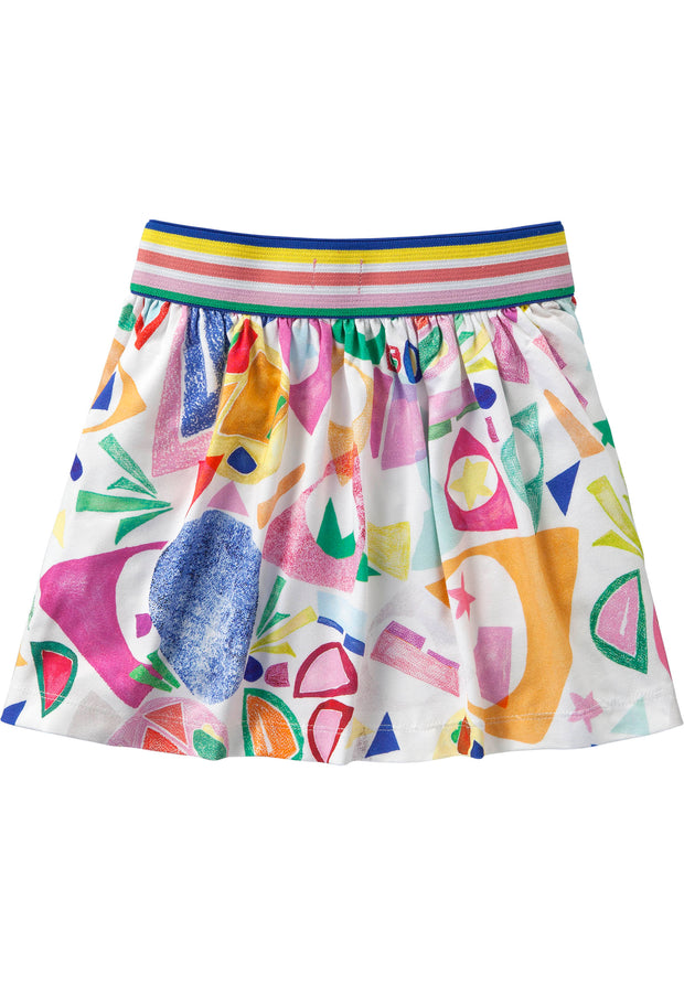 Jersey rokje met cut-out print Matisse style-Room Seven-92-Oilily.com