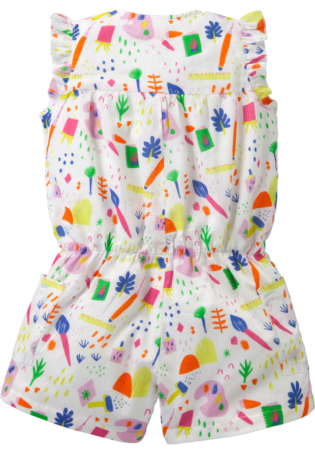 Katoenen onesie met Little Painter print-Room Seven-92-Oilily.com
