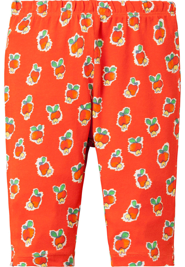 3/4 Legging Tappy voor meisjes rood-Oilily-74-Oilily.com