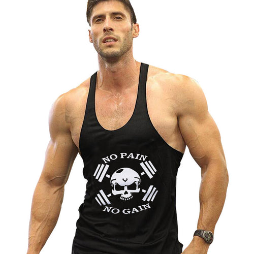 'NO PAIN NO GAIN' VEST