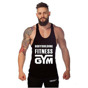 BODYBUILDING FITNESS GYM SINGLET
