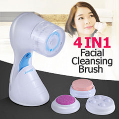 Jundeli Rechargeable 4 in 1 Facial Cleansing Brush Set, JDL-802 Shavers