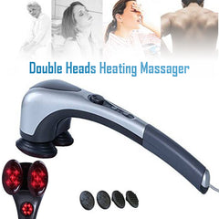 Double Heads Heating Massager H21