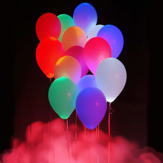 5pcs LED Balloons Night Glow Balloons
