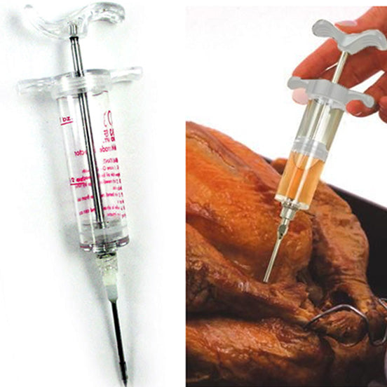 Injector Needle Flavor Syringe for Meat Chicken BBQ