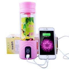 Portable Electric USB Rechargeable Juice Blender