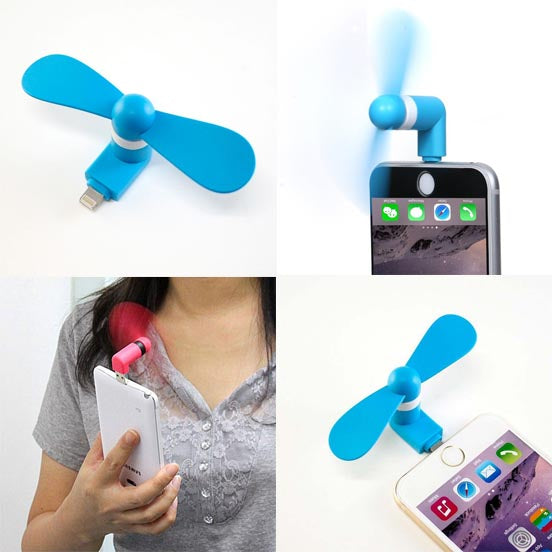Portable Mini USB Mobile Fan for Android & iPhone