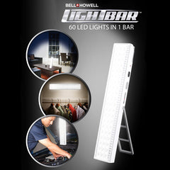 Rechargeable 60 LED Light bar