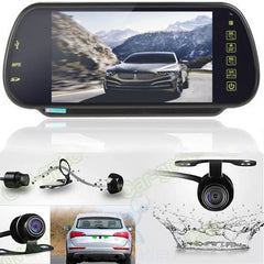 LCD Bluetooth MP5 Car Rear-view Mirror Monitor