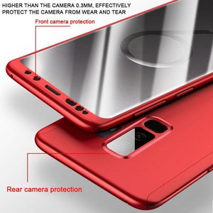 360 Degree Full Cover Luxury Phone Case For Samsung Galaxy - Fitted Cases
