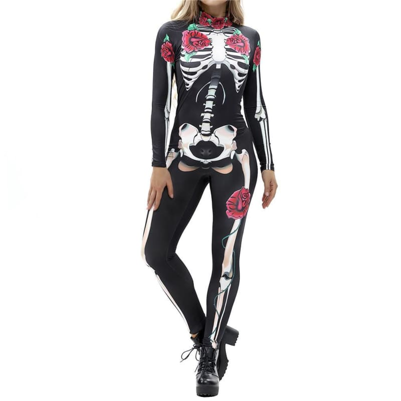 3D Bodysuit Halloween Just For You - Style 1 / S - Halloween